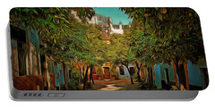 Seville Oranges Portable Battery Charger by Anton Kalinichev