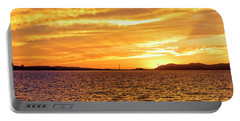 Sf Bay Area Sunset Portable Battery Charger