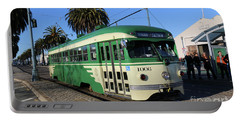Sf Muni Railway Trolley Number 1006 Portable Battery Charger