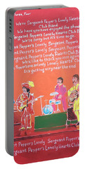 Sgt. Pepper's Lonely Hearts Club Band Reprise Portable Battery Charger