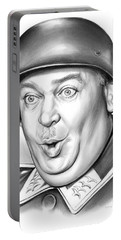 Sgt Schultz Portable Battery Charger by Greg Joens