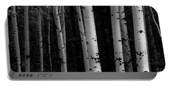 Portable Battery Charger featuring the photograph Shades Of A Forest by James BO Insogna