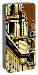 Shades Of London Portable Battery Charger by Ira Shander