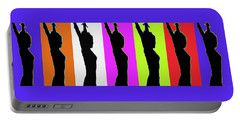 Shadow Dancers In A Row Portable Battery Charger