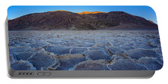 Shadows Fall Over Badwater Portable Battery Charger