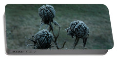 Shadowy Frozen Pods From The Darkside Portable Battery Charger