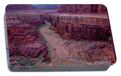 Portable Battery Charger featuring the photograph Shafer Canyon At Sunset - Moab - Utah by Gary Whitton