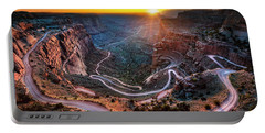 Shafer Trail Sunrise Portable Battery Charger