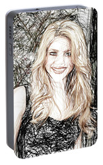 Shakira Portable Battery Charger by Raina Shah