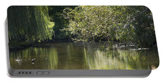 Portable Battery Charger featuring the photograph Shallow River by Tara Lynn