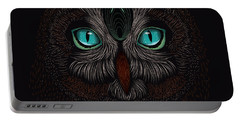 Shaman Spirit Owl Portable Battery Charger