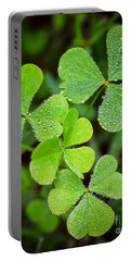 Shamrock Green Portable Battery Charger