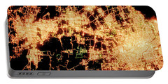 Shanghai From Space Portable Battery Charger by Delphimages Photo Creations