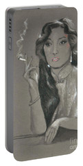Gong Li -- Chinese Film Star Portable Battery Charger