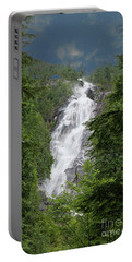 Portable Battery Charger featuring the photograph Shannon Falls by Rod Wiens