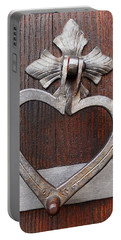 Portable Battery Charger featuring the photograph Shape Of My Heart by Juergen Weiss