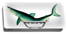 Shark In The Bath Portable Battery Charger