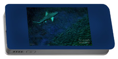 Shark In The Dark Portable Battery Charger