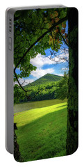 Sharp Top Through The Trees Portable Battery Charger