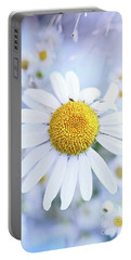 Shasta Daisy Portable Battery Charger