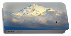 Shasta Near Sunset Portable Battery Charger