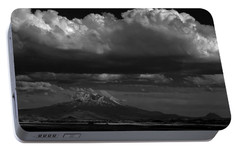 Portable Battery Charger featuring the photograph Shasta On July 17 by John Norman Stewart