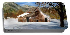 Shasta Winter Barn Portable Battery Charger