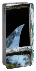 Shattered Reflection Portable Battery Charger by Bruce Carpenter