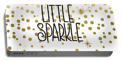 She Leaves A Little Sparkle Portable Battery Charger