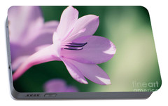 Portable Battery Charger featuring the photograph She Listens Like Spring by Linda Lees