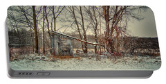 Shed In Winter Portable Battery Charger