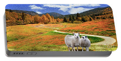 Sheep And Road Ver 2 Portable Battery Charger
