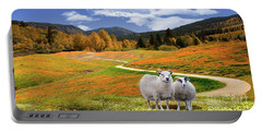 Sheep And Road Ver 3 Portable Battery Charger