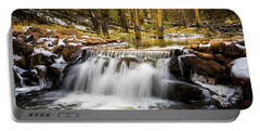 Sheep Creek Waterfall Portable Battery Charger