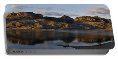Sheep Mountain Sunrise - Panoramic-signed-12x55 Portable Battery Charger