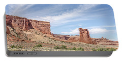 Sheep Rock In Arches National Park Portable Battery Charger