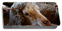 Sheep To Be Sheared Portable Battery Charger