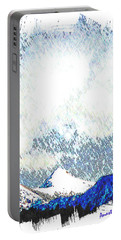 Sheep's Head Peak April Snow Portable Battery Charger