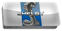 Shelby Cobra - 3d Badge Portable Battery Charger