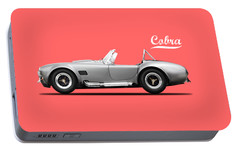 Shelby Cobra 427 Sc 1965 Portable Battery Charger by Mark Rogan