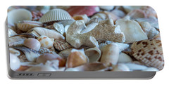 Shell Ocean Portable Battery Charger by Sabine Edrissi