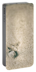Portable Battery Charger featuring the photograph Shell On Beach Alabama  by John McGraw