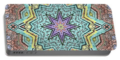 Shell Star Mandala Portable Battery Charger