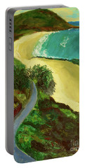 Shelly Beach Portable Battery Charger by Paul McKey