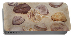 Shells And Stones Portable Battery Charger
