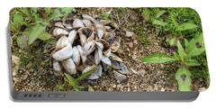 Portable Battery Charger featuring the photograph Shells Of Freshwater Mussels by Michal Boubin