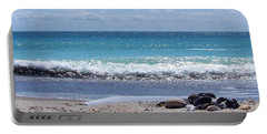 Portable Battery Charger featuring the photograph Shells On The Beach by Sandi OReilly