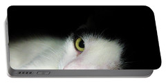 Shelter Cat Portable Battery Charger