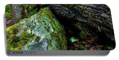 Sheltered By The Rock Portable Battery Charger