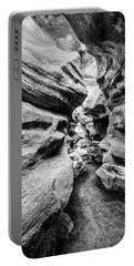 Portable Battery Charger featuring the photograph Shenandoah Caverns Slot Canyon by Kevin Blackburn
